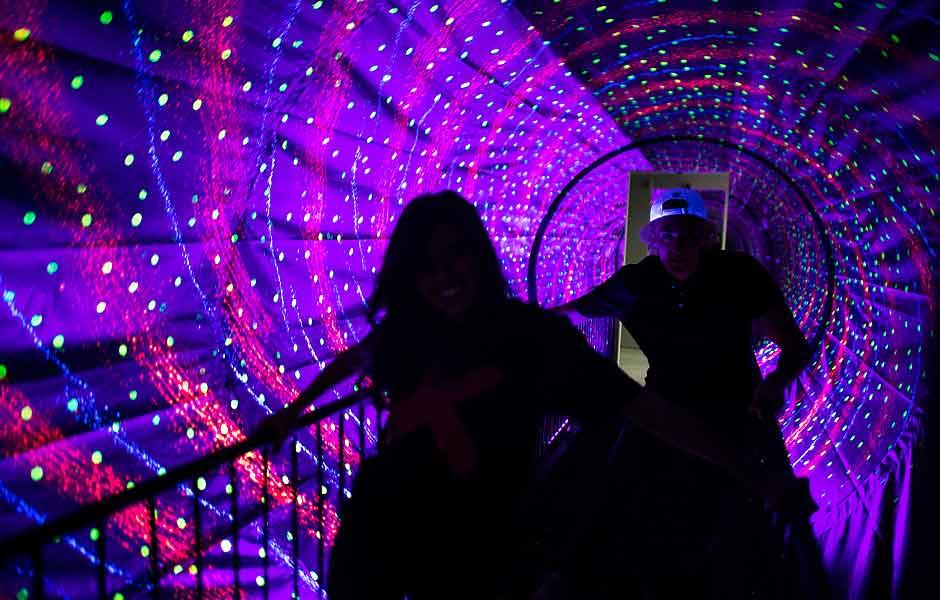 Museum of illusions tbilisi vortex tunnel